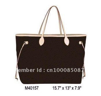 Wholesale Monogram Canvas M40157 NEVERFULL GM Women Lady Shoulder Hobo Tote Bags Designer Handbags(China (Mainland))