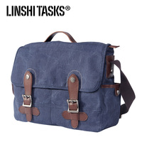 Linshitasks casual bag messenger bag man bag handbag vintage backpack bag