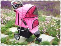 2013 pet stroller dog cart dog car Three wheels Light  Pet Stroller carrier
