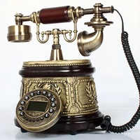 Quality fashion phone antique telephone old fashioned vintage telephone caller id