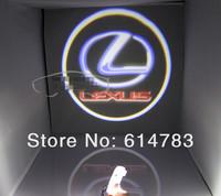 Original Door light replace!!For Lexus ES350 GS LS LX RX 3W Led door logo light projector, Ghost Shadow welcome light laser lamp