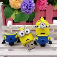 Wholesale Hot sale - Despicable Me 2 , Dave 4GB - 32GB USB 2.0 Flash Memory Stick Drive U Disk Festival Thumb/Car/Pen Gift