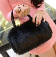 2014 New Bags Fur Women's Handbag Trend Berber Fleece Faux Handbags Cross-body Bag Female Winter Casual Dress Party Messanger