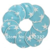 free shipping retail bamboo+PUL waterproof  washable breast pad milk pad nursing pad 10pc/lot