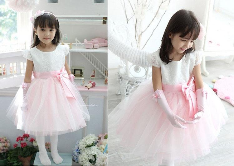 Child formal dress costume female child princess dress tulle dress modern dance infant wear performance costumes(China (Mainland))