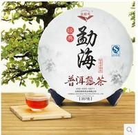 2013year old 357g Chinese yunnan ripe Puerh tea puer tea pu er China naturally organic matcha health care cooked Black tea puer