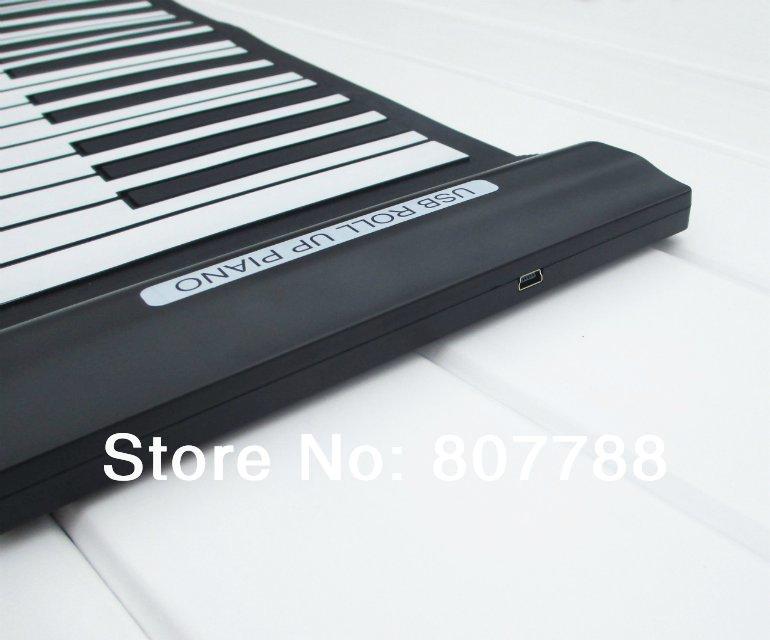 Free shipping 61 keys usb midi controller piano keyboard(China (Mainland))