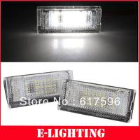 18SMD LED LICENSE PLATE LIGHT Error Free for 3 SERIES BMW E46 4D 4 Door 4Door