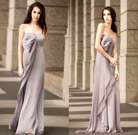 Elegant and noble and elegant wedding bridesmaid elegant banquet tube top silk long design over-the-knee women's formal dress