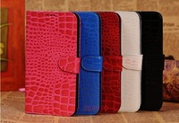 Wallet Stand Case with card slot High Quality Leather Case Mobile Phone Case For Samsung Galaxy Mega 5.8 i9152