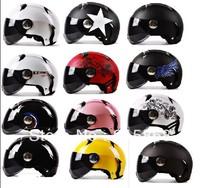 Winter fashion motorcycle helmet electric car safety helmet half helmet men Four Seasons General