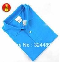 Free shipping men's casual shirt sleeve cotton short