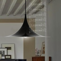 Deg . romantic deg . light brief black pendant light