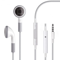 Free Shipping Multicolor like Original EarPods  Headphone Headset Earphone With Mic for iPhone5S 5 4S 4 3GS  i Pod Touch 5