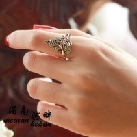 Laoyinjiang s925 handmade pure silver vintage Women thai silver marcasite ring finger ring