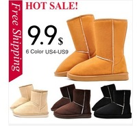 Free Shopping [Big Sale] 2013 HOT ! Cheap snow boots Women's Winter boots for ladies fashion shoes snow boots S005