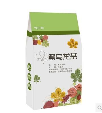 Japan osk black oolong tea brand tea bag fragrance wulong tea lose weight organic slimming 100
