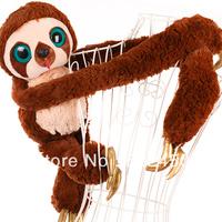 Free shipping the Croods belts large plush stuffed sloth baby toys animal soft cartoon dolls  girl friend birthday gift 561