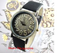 2013 nostalgic ladies quartz watch,Women leather band vintage wristwatches,Free shipping dropshipping