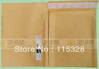 Free Shipping 15x21cm 100pcs/lot Kraft Bubble Mailers Padded Envelopes Bags CD DVD