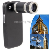 F18mm 8X Optical Zoom Mobile Phone Telescope Lens with Plastic Case for Samsung Galaxy S 3 i9300