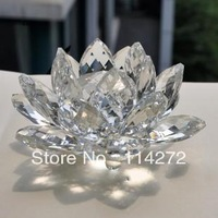 The K9 crystal Lotus home decoration crystal gifts crafts Christmas gifts living gift home decoration