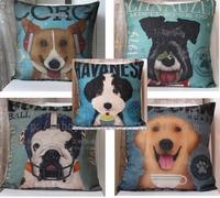 Fluid dog car cushion kaozhen pillow cover core 45cm