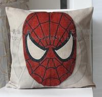 Linen child real home cushion kaozhen pillow cover core 44cm