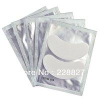 Free Shipping 50 Pair Silk Eye Pads Under Eye Pads  Patch Lint Free Eye Pad Eyelash  Extension Tool Supply Medical Tape, RUA