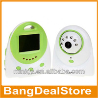 Pretty Cute 2.4 Inch Video Baby Monitor with 300KP CMOS Image Sensor Two-way Intercom Function