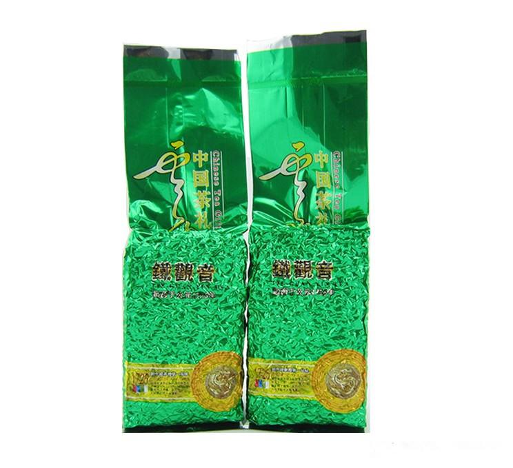 250g 2pcs 500g premium Anxi Tieguanyin oolong tea tie guan yin wulong green food slimming 100