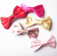 5 Pcs/Lot Wholesale New Handmade Mini Hair Bow Baby Girls' Hairpins Kids Hair Clips Accessories