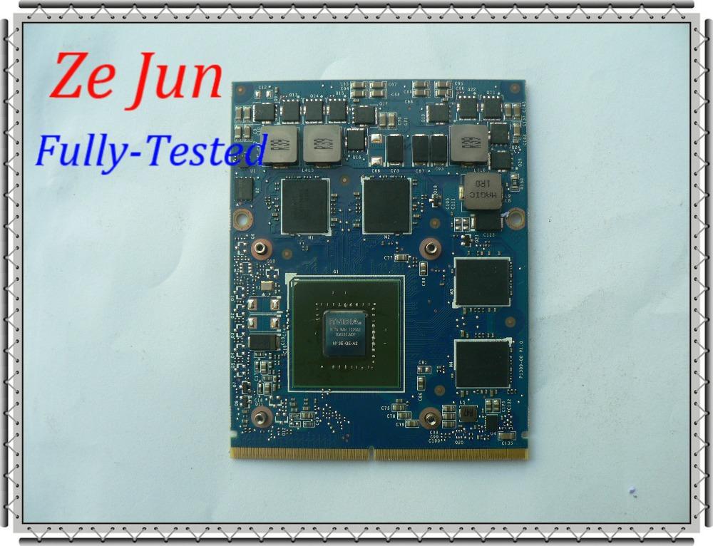 GTX660M N13E-GE-A2 2G DDR5 For M17X R4 M18X R2 CN-0M3XJV M3XJV computer components laptop parts vga graphics video card(China (Mainland))