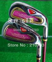 New Golf Clubs Women Maruman Majesty Prestigio Golf Irons set 4-9.P.AS(9pc)graphite Golf shaft,Club Iron EMS Free Shipping