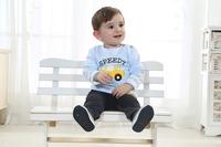 Retail! hot sale baby clothing set car cartoon boy suit t-shirt+pants 2pcs autumn infant homewear Free shipping  BCT-342