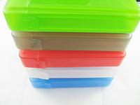 "1pcs/lot  case Free Shipping 3.5"" IDE/SATA HDD Hard Drive Disk Storage Box,Protection Case"
