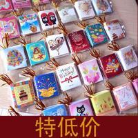 2014 business thanks giving festive day post card /cute greeting card  0Pcs/lot mini cartoon cards 252pcs /lot free shipping