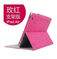 Hot Sale Magnetic Smart Cover Cases For i_Pad Air 5 PU Leather Stand Folding Case With Sleep Wake-up Funtion