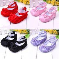 Baby Girls Shoes, Todder pre-walker shoes infant baby girl prewalker flower soft sole shoes Little Spring Free Dropshipping