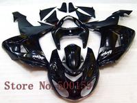 For Kawasaki ZX10R 2006 2007 black  06 07 Ninja 2006 2007 ZX 10R ZX-10R 06 07  ABS Fairing Set Plastic Kit 01