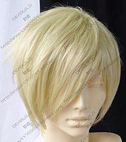 JF716 Short Light-Blonde Fashion HAIR Wig +wigs CAP