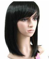 JF718JF857 sexy short black health hair Wig +wigs CAP