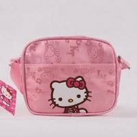 KT873 Free shipping!Children's Bag Hello Kitty Mochilas Kids' School Bag Kids Satchel Messenger Bags