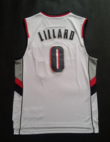 #0 Damian Lillard Rip City,Basketball Jerseys,2014 New Style Jersey Sportest Cheapest,Embroidery Sewing logos,Can Mix Order