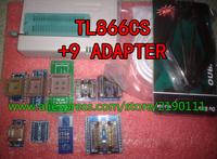 Free Shipping v6.0 MiniPro TL866CS USB Universal Programmer/Bios Programmer support 13143 +9 adapters