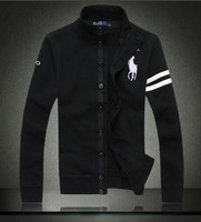 New Arrival Men's coat ,100% cotton high quality fashion hoodies for men ,sport polo cardigan for men ~