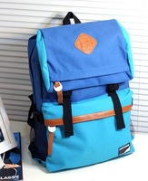 Free Shipping 2014 Men's Printing Backpacks Travel Bags School Backpacks for Teenager Girls 7 Colors Wholesale HB201322