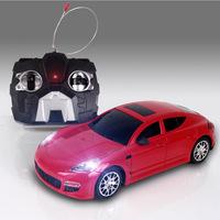 Four light electric RC car 1:24 authentic models