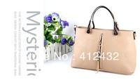 Free shipping 2014 OL big bag of candy color shoulder bag portable women handbag messenger bag free shipping