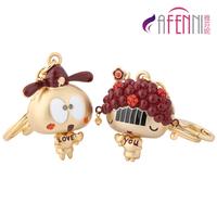 Fanny couple key chain car key chain birthday valentine day gift